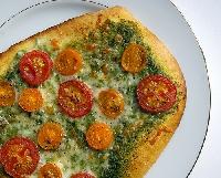 Ricetta pizza al Pesto Genovese Foto