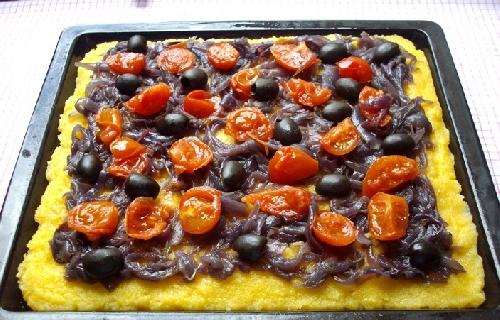 Ricetta Pizza alla Polenta Foto