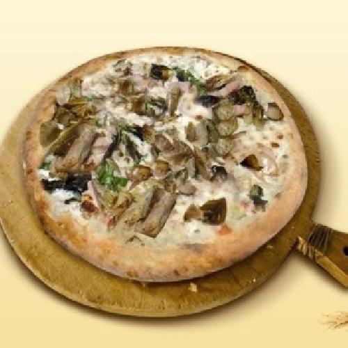 Ricetta pizza rustica di carciofi e ricotta Foto