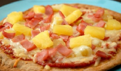 Ricetta Pizza Hawaiana Foto