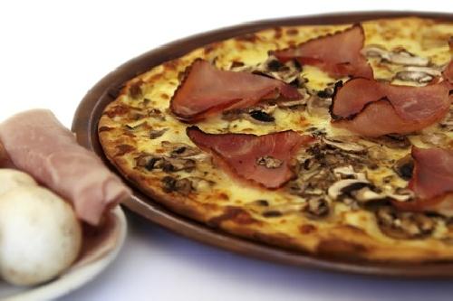 Ricetta Pizza Boscaiola Foto