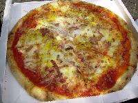 Ricetta Pizza alla Carbonara Foto