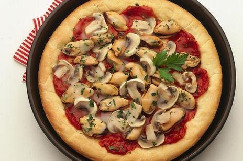 Ricetta pizza Mare e Monti  Foto