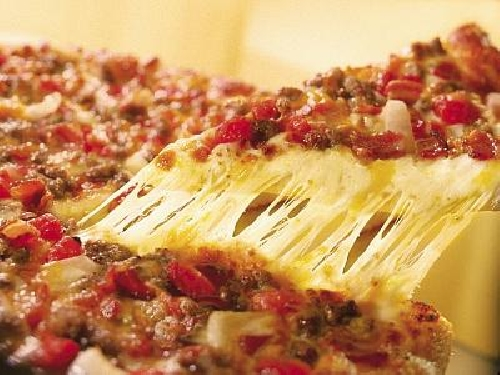 Ricetta pizza Americana Foto