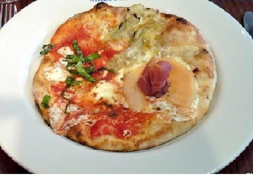 Ricetta pizza Prosciutto e Melone Foto