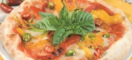 Ricetta pizza Fiori e Fiamme Foto