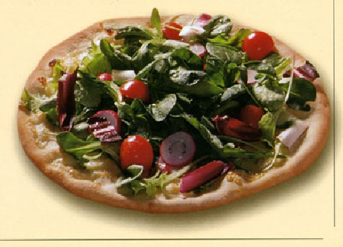Ricetta pizza Insalata Foto