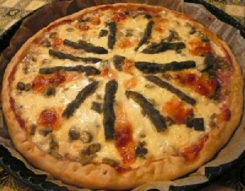 Ricetta pizza Rustica agli Asparagi Foto