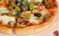 Ricetta pizza Fantasia Light Foto