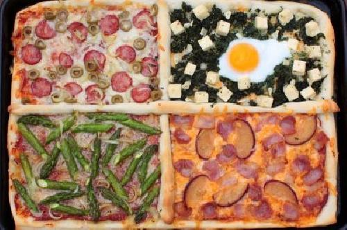 Ricetta pizza Quattro Gusti Foto