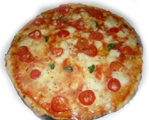 Ricetta pizza Vesuvio Foto