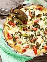 Ricetta pizza Svizzera Foto