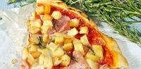 Ricetta pizza Patate e Prosciutto Foto
