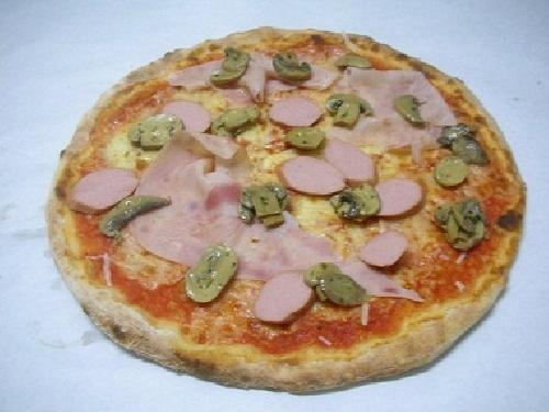 Ricetta pizza canadese Foto