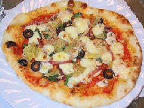 Ricetta Pizza Capricciosa Foto
