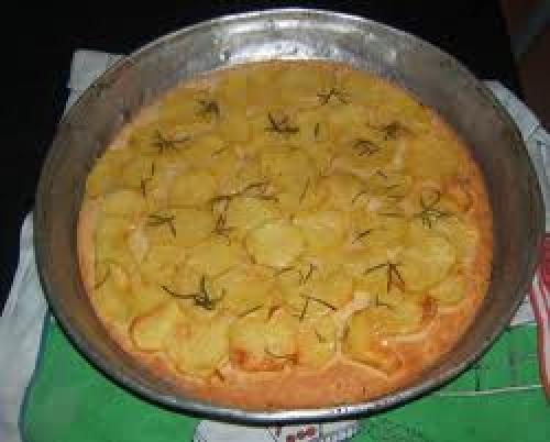 Ricetta Pizza con patate Foto