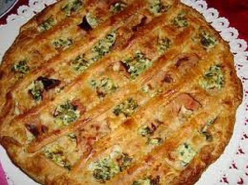 Ricetta Pizza Rustica Ricotta e Spinaci Foto