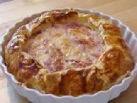 Ricetta Pizza Rustica Prosciutto e Formaggio Foto